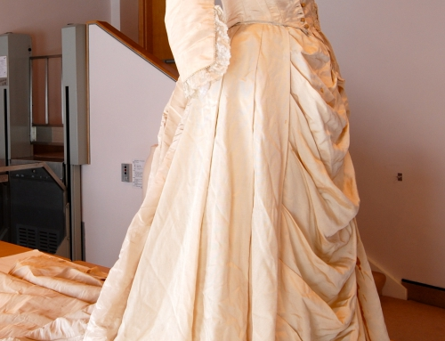 The Conservation of Two Wedding Dresses